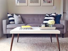awesome ikea hack of the week a 60 sleek midcentury coffee table