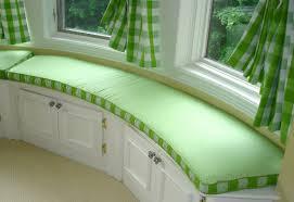 bench window treatments for wide windows beautiful window bench