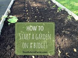 How To Start A Garden Bed Most Interesting Start A Garden Delightful Ideas Starting Garden