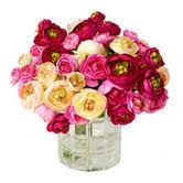 Rose Bouquet Fuchsia 9in Found It At Joss U0026 Main Faux Assorted Ranunculus Crafts