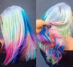rainbow color hair ideas rainbow hair rainbow hair bright hair and hair cuts