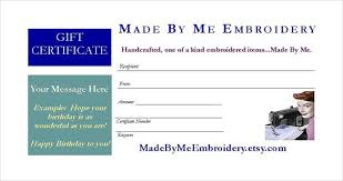 7 email gift certificate templates u2013 free sample example