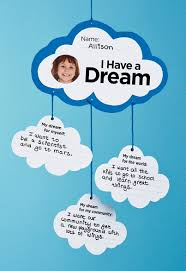 Being Blind In A Dream I Have A Dream Mobile Printable Template Scholastic Instructor