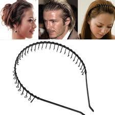 metal headbands comb headbands with teeth and comb plastic teethheadbands for