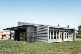 prefabricated shipping container in denmark upcycle house homedezen