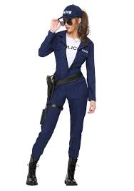 blue jumpsuit costume s tactical cop jumpsuit