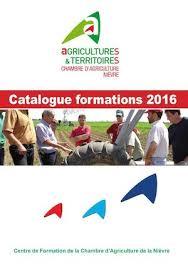 chambre d agriculture de la nievre calaméo catalogue formation2016