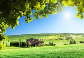 pictures tuscany italy nature fields scenery building 3000x2081
