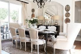 Transitional Dining Room Glam Transitional Dining Room Reveal Randi Garrett Design