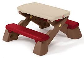 step 2 folding picnic table amazon com step2 fun fold jr picnic table new colors toys games