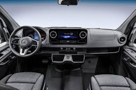 mercedes vito interior all new mercedes sprinter on sale in 2018 first interior