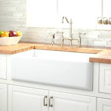 33 inch farm sink 33 farmhouse sinks optimum offset double bowl stainless steel