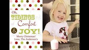 christmas christmas card on personalized holiday custom