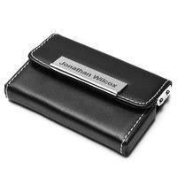 Black Business Card Holder Engraved Business Card Holders For Men Business Card Cases