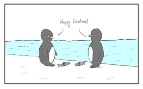 penguin christmas jemima kingsley