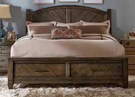 Country Bed Sets Modern Country Bedroom Set With Solid Spruce Pine Wood And Smokey
