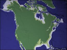 map of america 20000 years ago the migrating boreal forest feature articles
