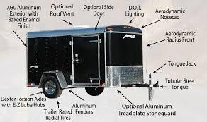 enclosed trailer exterior lights homesteader hercules enclosed cargo trailer single axle hercules 6