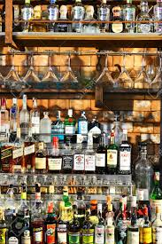 alcoholic drinks bottles bangkok oct 17 bottles of spirits and liquor at the bar wine