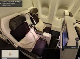 Air France A380 Seat Map by Is Google Street View The Next Best Thing To A Trip Report One