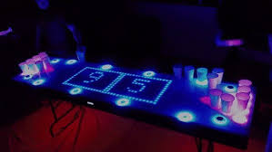 Custom Beer Pong Tables by Canadians Improve Beer Pong With Epic Table 13 Photos U0026 Gifs