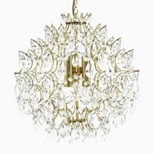 Antique Glass Chandelier Large Vintage Italian Hollywood Regency Style Chandelier For Sale