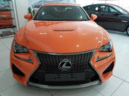 rcf lexus orange used 2016 lexus rc u0027f u0027 5 0i 470 bhp v8 automatic for sale in