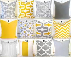 grey and yellow home decor yellow gray decor etsy