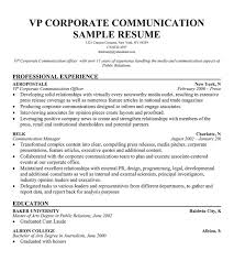 Corporate Communication Resume Sample by Vp Business Development Sample Resume Executive Resume Writing