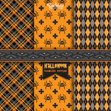 halloween texture set of three halloween illustrations peecheey