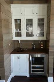 Wet Bar Cabinet Ideas Wet Bar Cabinets Chic Kitchen Features An Dark Brown Bi Fold