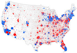 United States Political Map by Cartonerd The Nyt Election Map