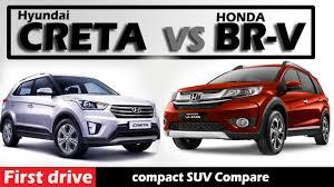 honda brv vs hyundai creta compare and review first drive