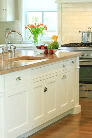 classic and modern kitchens countertops wood kitchen countertop with undermount sink and