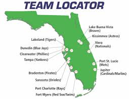 xm mlb chat florida grapefruit league map