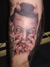 scary devil tattoo art and designs page 5