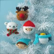 Knitted Christmas Stocking Tree Decorations by Knitting Patterns For Christmas Decorations Christmas2017