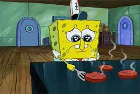 Sad Spongebob Meme - sad spongebob blank template imgflip