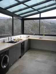 cuisine dans veranda cuisine dans véranda aluminium aubagne technic habitat