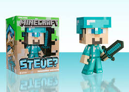 diamond steve new collectibles minecraft steve diamond steve creeper vinyl