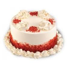 kg red velvet cream cake