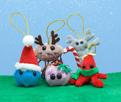 acting balanced product review giant microbes christmas ornaments