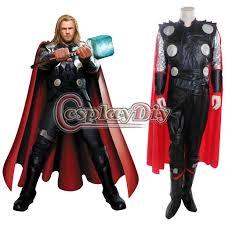men halloween costume super hero men thor costume deluxe hallloween cosplay
