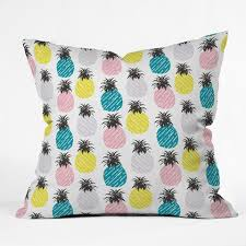 co outdoor tropics outdoor throw pillows deny designs