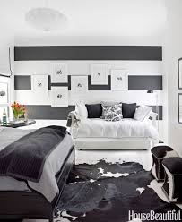 Bedroom Decorating Ideas With Black Furniture Black And White Designer Rooms Black And White Decorating Ideas