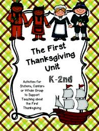 the thanksgiving unit for k 2nd grade by susan see tpt