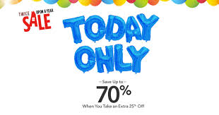 today only save 70 with the disney store upon a year sale