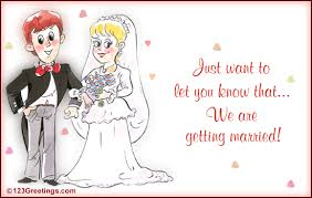we are getting married free announcement ecards greeting cards