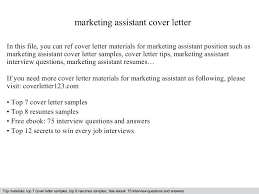 Marketing Assistant Resume Sample Resume Samples For Marketing Jobs Example Of Resume For Graduate