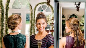 three easy holiday hairstyles southern living